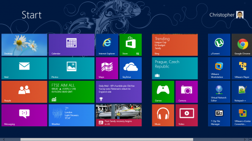 Windows8 ModernUI