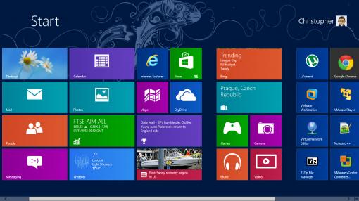Windows8 ModernUI